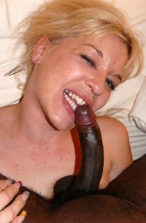 BlackLollipops - The best in amateur interracial action. Dont miss this sexy blonde French MILF with a huge lust for big black cocks.